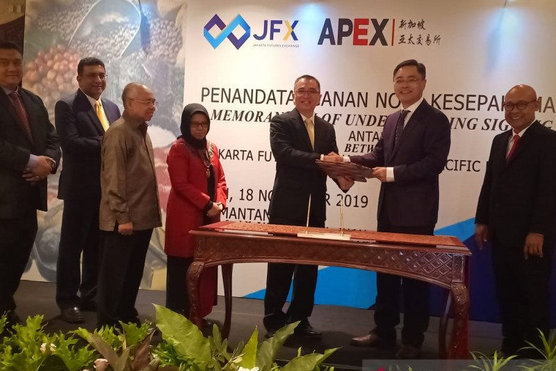 APEX JFX signs pact with APEX for exchange of stocks information - ANTARA News