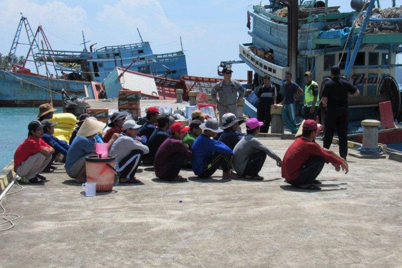 Dinas Perikanan Sumsel cegah  penangkapan ikan ilegal