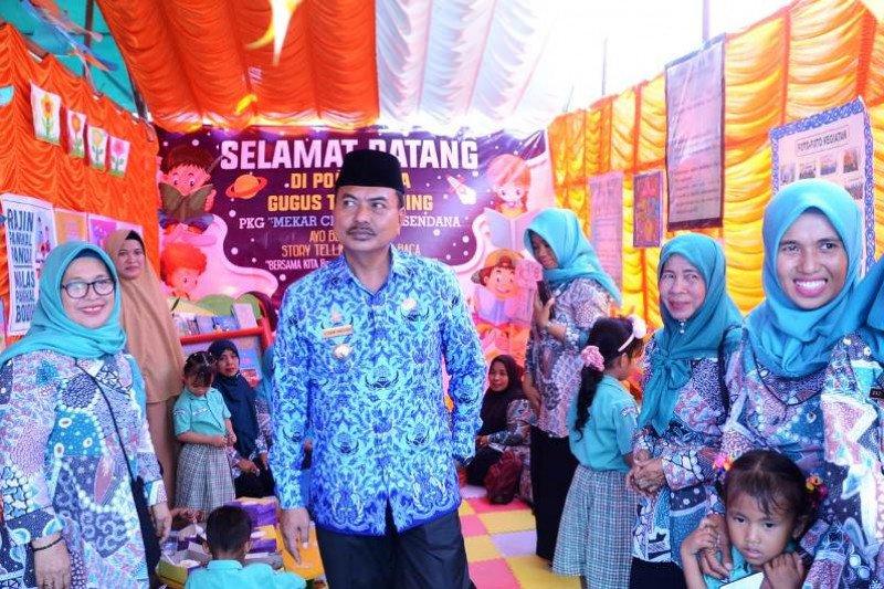 Majene  kampanyekan kampung literasi jadi poros pendidikan nonformal