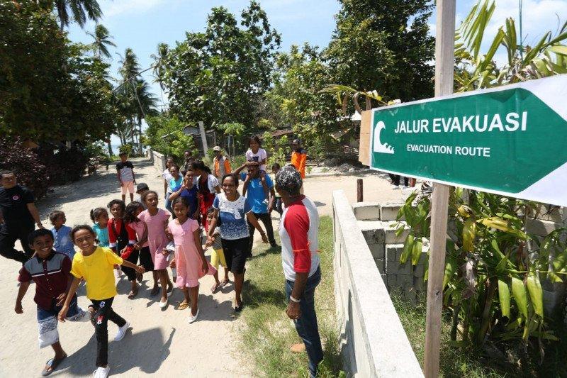 BNPB ajarkan metode baru evakuasi mandiri warga Kepulauan Aru