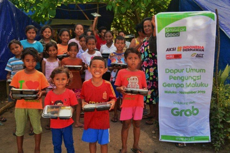 Kolaborasi Grab Indonesia dengan ACT bantu ribuan penyintas gempa Maluku