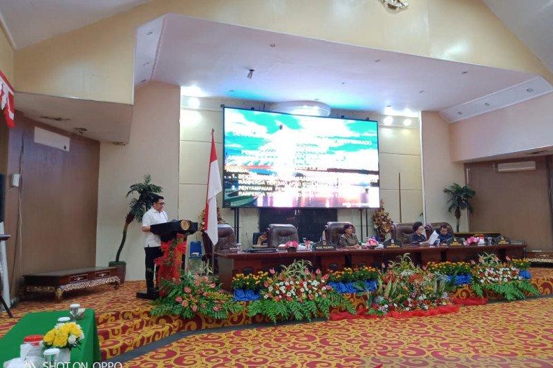 DPRD Manado terima penyampaian nota RAPBD 2020