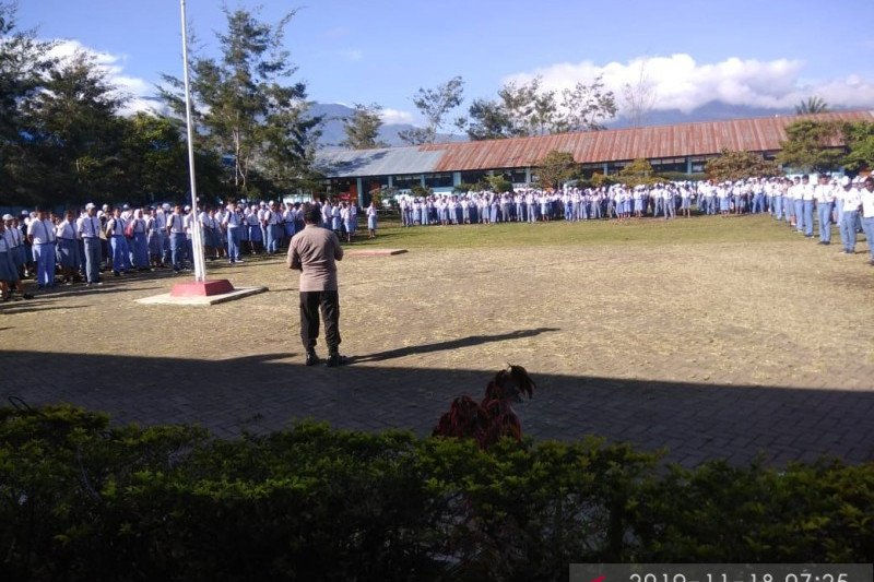 Ujian akhir pelajar Jayawijaya lebih awal ketimbang daerah lain Papua