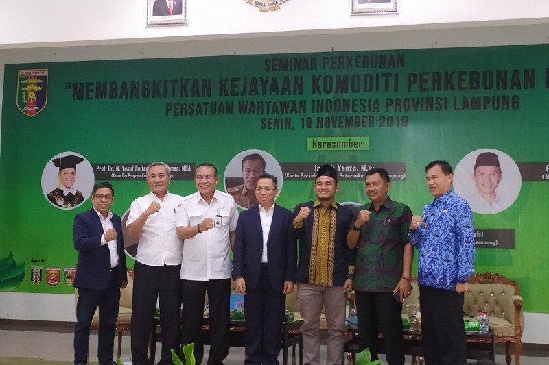 Manfaatkan kecanggihan teknologi untuk kembalikan kejayaan kopi dan lada Lampung