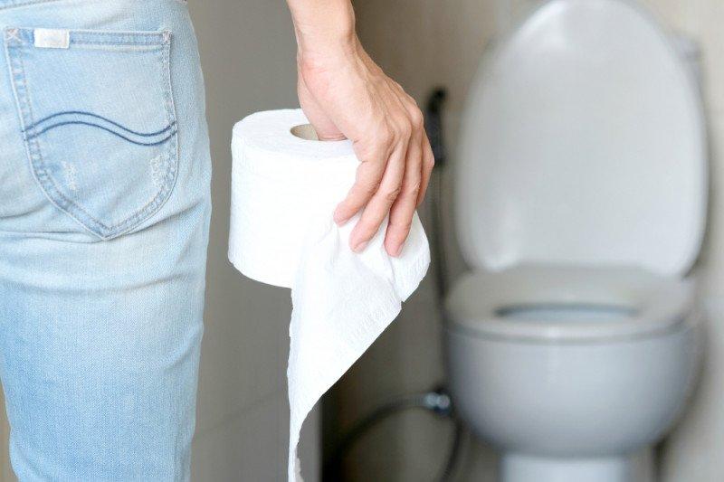 Bagian-bagian toilet rawan kuman