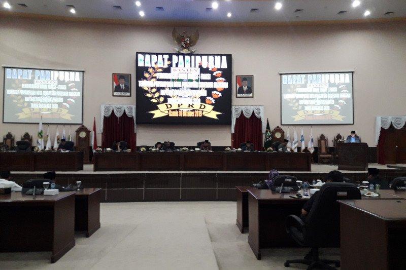 DPRD Provinsi Banten setujui Rp13,214 triliun anggaran tahun 2020