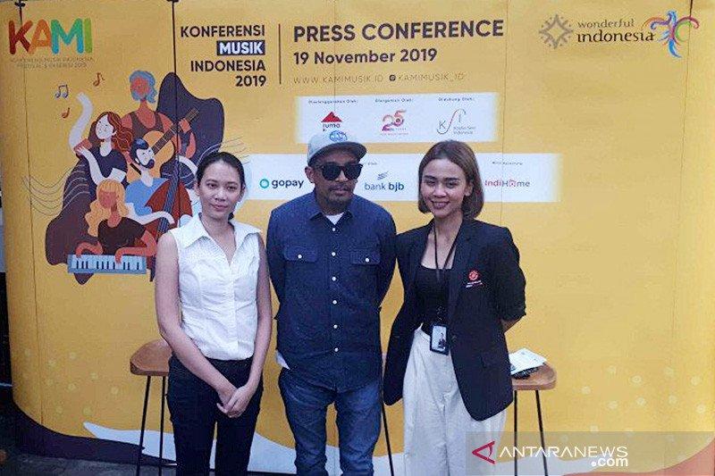 Konferensi Musik Indonesia kedua bahas industri musik berkelanjutan