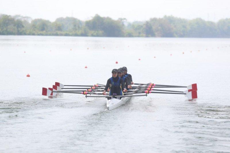 Jabar, Jambi, Sulteng berbagi emas di dayung rowing Popnas