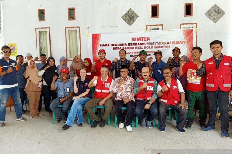 PMI Sigi bentuk relawan Sibat di lokasi terdampak tsunami