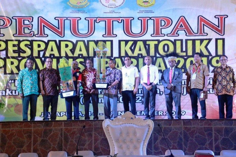 Pesparani I Katolik Provinsi Papua resmi ditutup