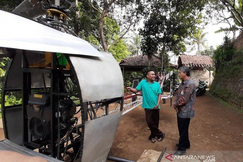 Lapan temui Jujun Junaedi, pembuat helikopter dari Sukabumi untuk berbagi ilmu
