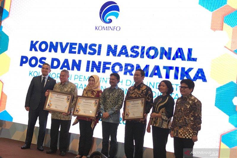 Menkominfo buka Konvensi Nasional Pos dan Informatika dukung ekonomi digital