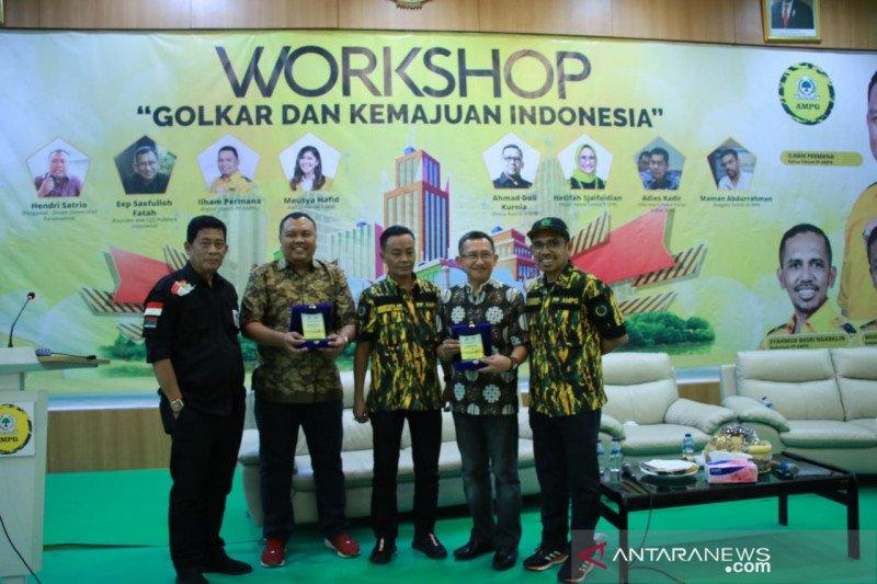 AMPG adakan workshop Golkar dan Kemajuan Indonesia jelang Munas Golkar