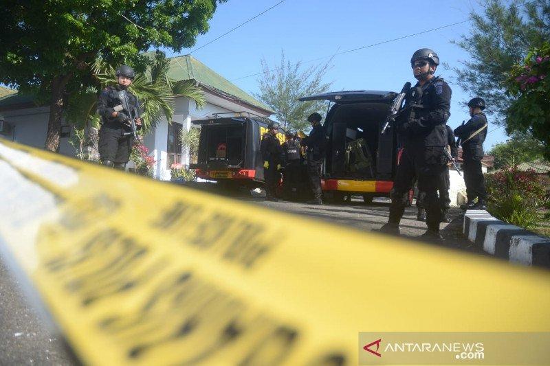 Polisi: Ledakan di Kantor Kejari Parepare disebabkan pemusnahan detonator belum sempurna