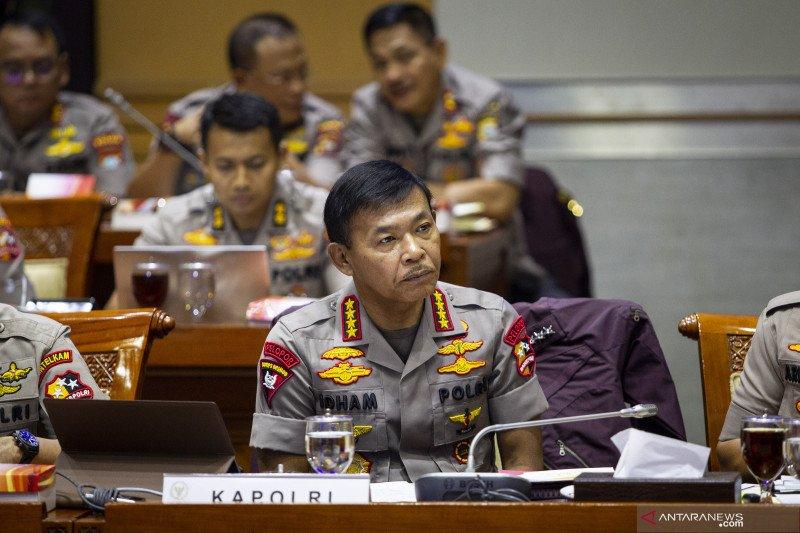 Anggota DPR: Anggota harus contohi Kapolri tidak berperut buncit