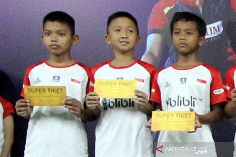 Sembilan kali audisi PB Djarum, pebulu tangkis asal Mataram raih super tiket