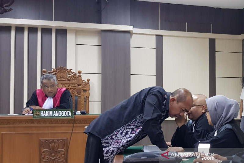 Mantan Bupati Sragen dihukum 1 tahun penjara
