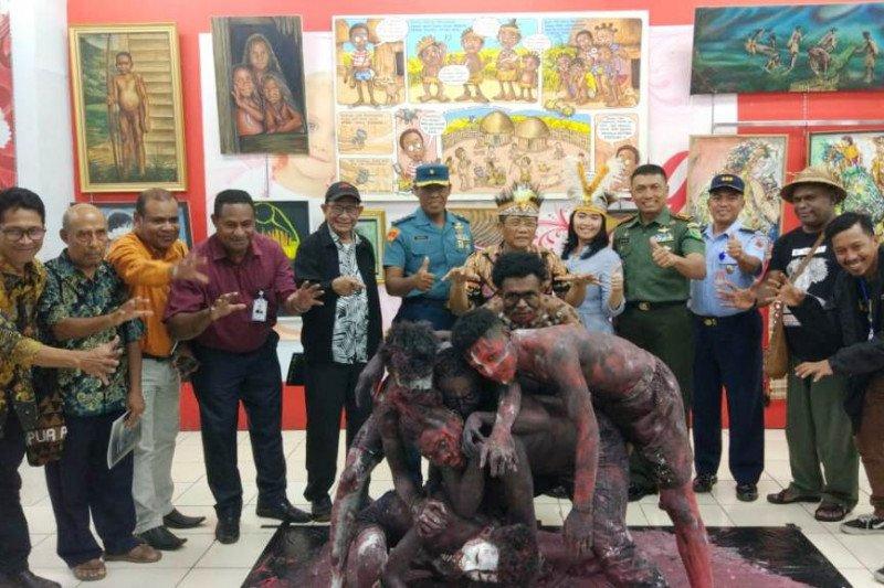 Danrem 172/PWY apresiasi jiwa seni generasi muda Papua patut dibanggakan