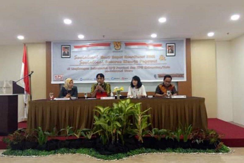 KPU Sulut sosialisasi hasil Rakor SDM