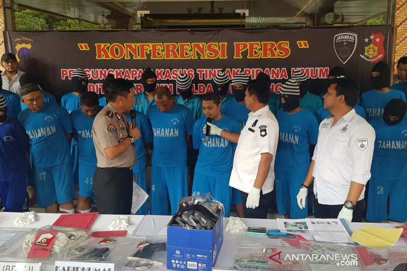 Polda Jawa Tengah ringkus komplotan perampok dikendalikan dari LP