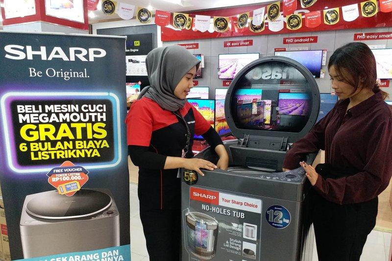 SHARP Indonesia Sisipkan Hadiah Spesial Terbaru untuk Pembelian Mesin Cuci dan AC