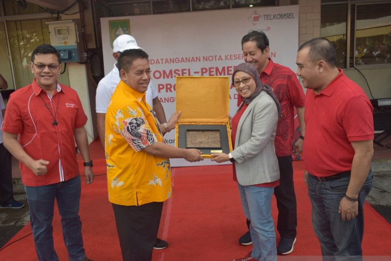 Telkomsel hadirkan aplikasi digital bagi pelajar Riau