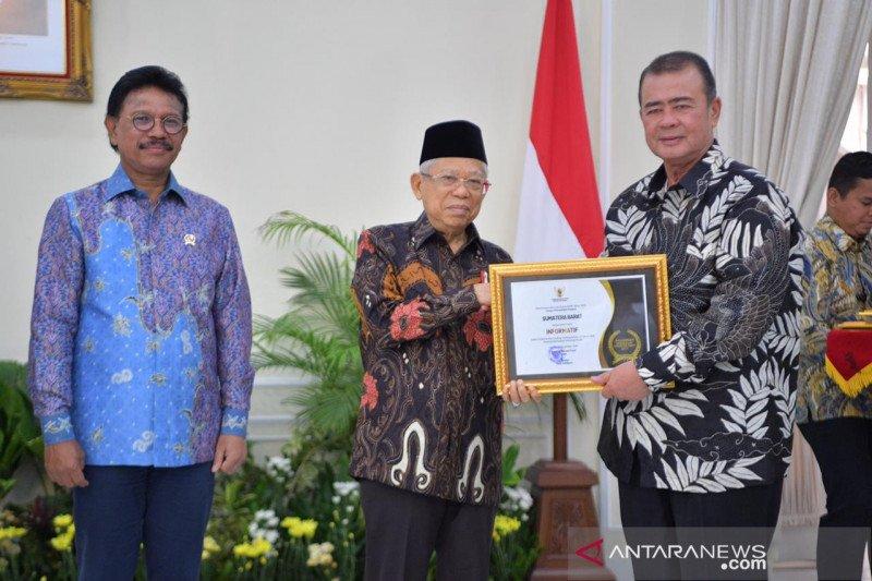 Sumbar dapat penghargaan Anugerah Keterbukaan Informasi Badan Publik 2019