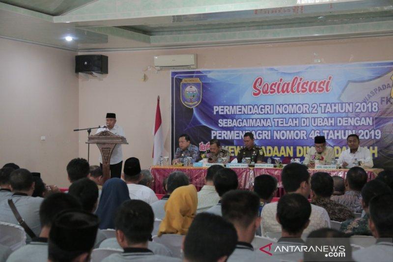 Bupati Ogan Komering Ulu imbau FKDM lebih proaktif cegah  radikalisme