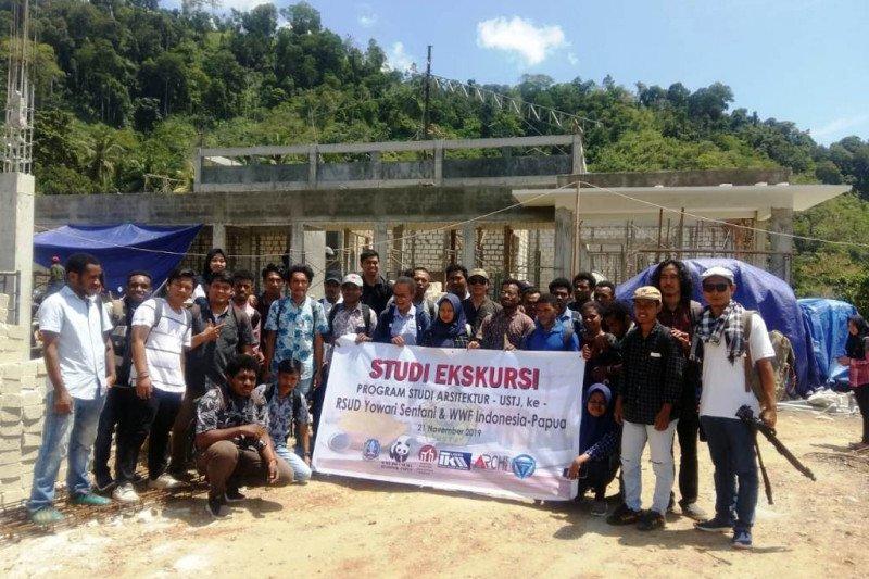 Mahasiswa USTJ laksanakan studi ekskursi di Sentani