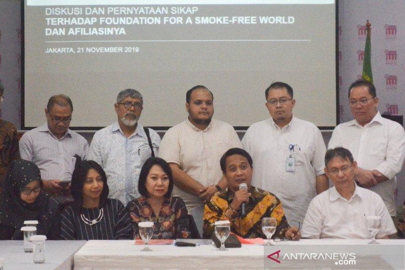 IDI tolak kerja sama dengan yayasan mengampanyekan bebas asap rokok