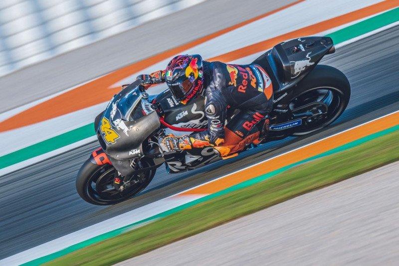Espargaro terkesan dengan sasis baru KTM di tes pramusim Valencia