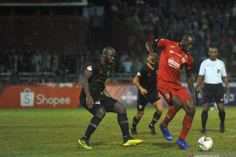Semen Padang menang di kandang, taklukan Kalteng Putra 1-0