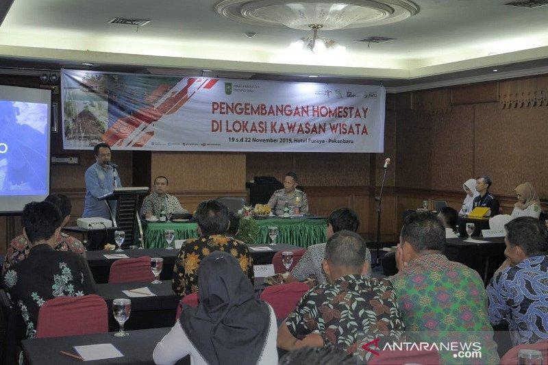 """Dispar Riau bantu pengelola objek wisata kembangkan """"Homestay"""", begini penjelasannya"""