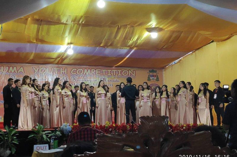 Urutan Juara  Koor  A-B Kusuma Youth Competition Keuskupan Manado