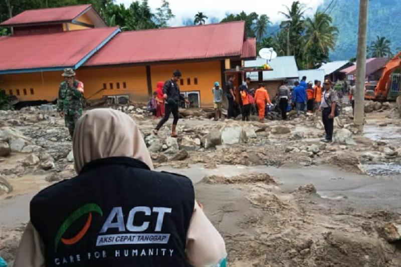 ACT Bukittinggi galang donasi bantu korban banjir di Agam