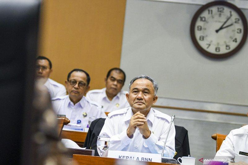 Rapat dengar pendapat BNN dengan Komisi III DPR