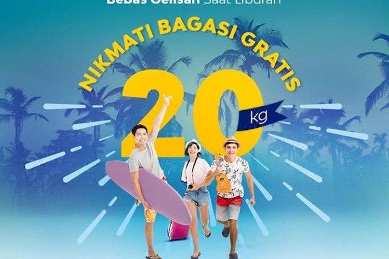 Penerbangan natal, Sriwijaya gratiskan biaya bagasi 20 kilogram