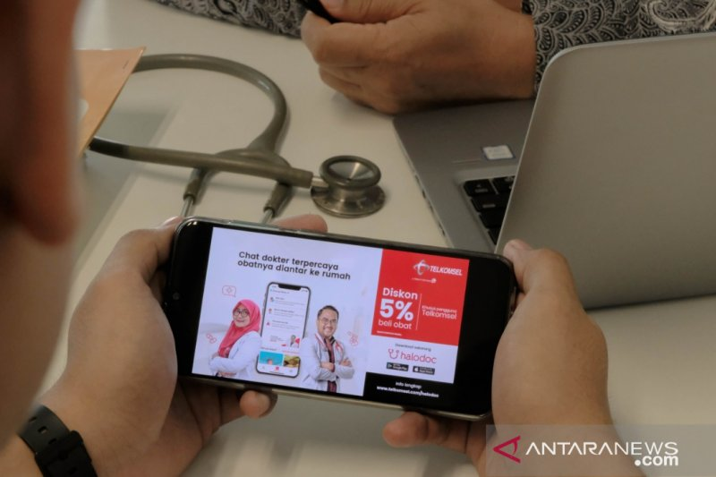 Akselerasikan Transformasi Digital Layanan Kesehatan, Telkomsel Kolaborasi Halodoc