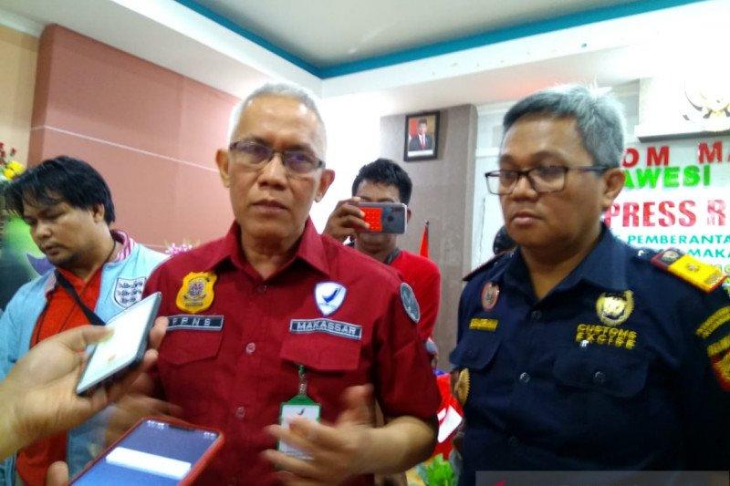 BBPOM Makassar merilis kosmetik dan pangan ilegal