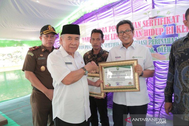Desa Lekis Rejo Ogan Komering Ulu terima  sertifikat Proklim