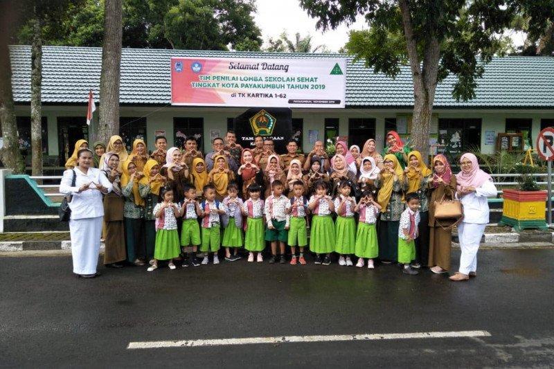 Dua sekolah wakili Kota Payakumbuh ke lomba sekolah sehat tingkat provinsi