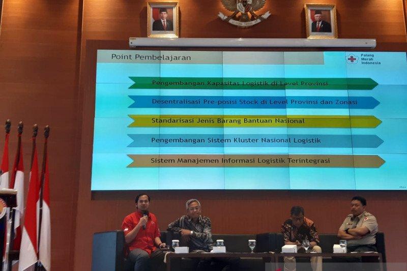 Dalam optimalisasi peran klaster nasional logistik PMI terlibat aktif