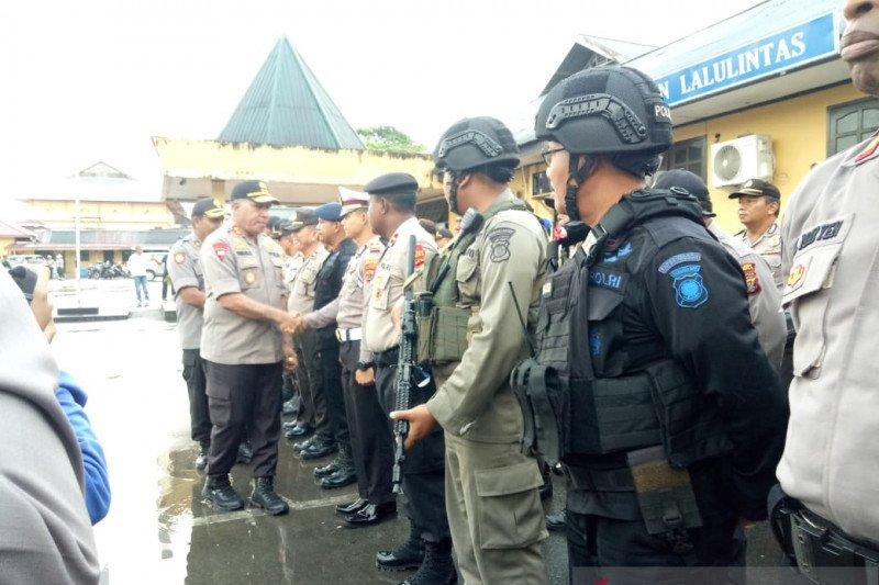 Kapolda berikan apresiasi kepada anggota penangkap pimpinan KKB Iris Murib