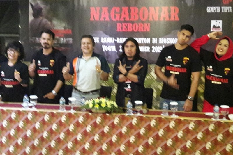 Sutradara: Film Nagabonar Reborn terkesan lebih manusiawi