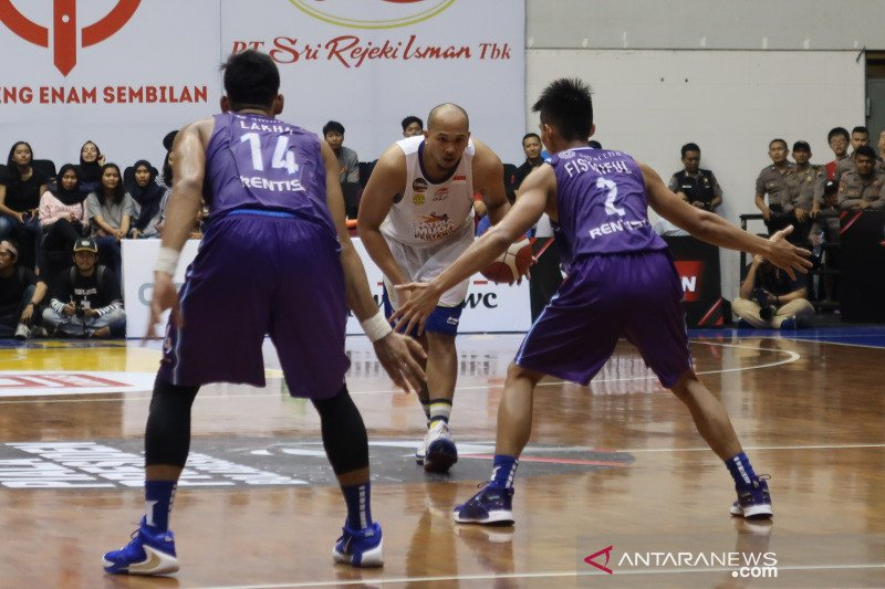 Satria Muda juarai Piala Presiden Bola Basket usai tundukkan Hangtuah 51-43