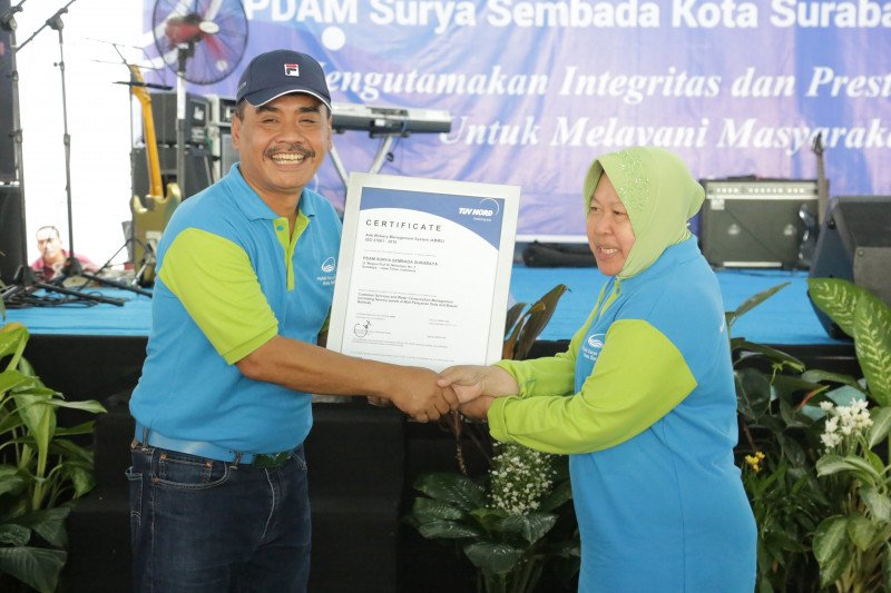 PDAM Surabaya terapkan ISO antisuap pertama di Indonesia