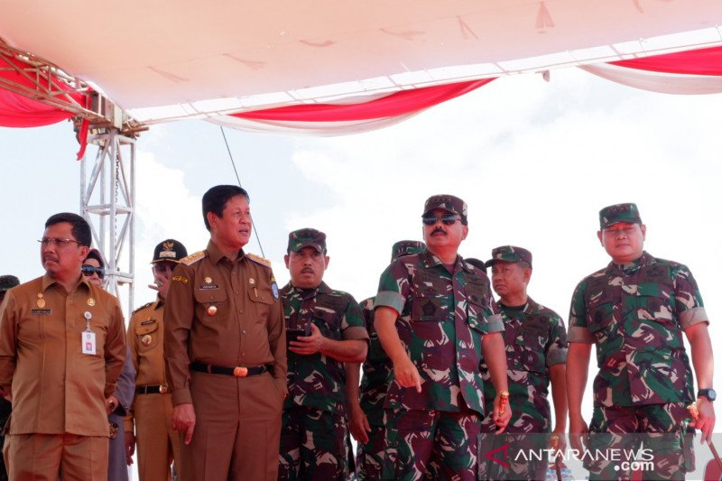 Panglima TNI resmikan pembangunan Makogabwilhan I di Kepri