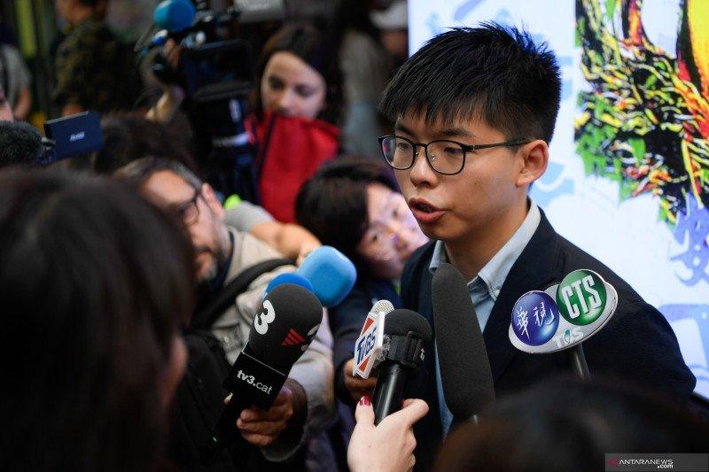 Hong Kong tolak tuntutan Joshua Wong soal diskualifikasi pemilu 2019