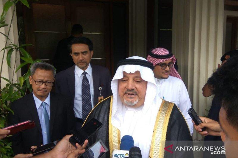 Dubes Arab Saudi kunjungi Menkopolhukam, tapi tidak bicarakan soal Rizieq