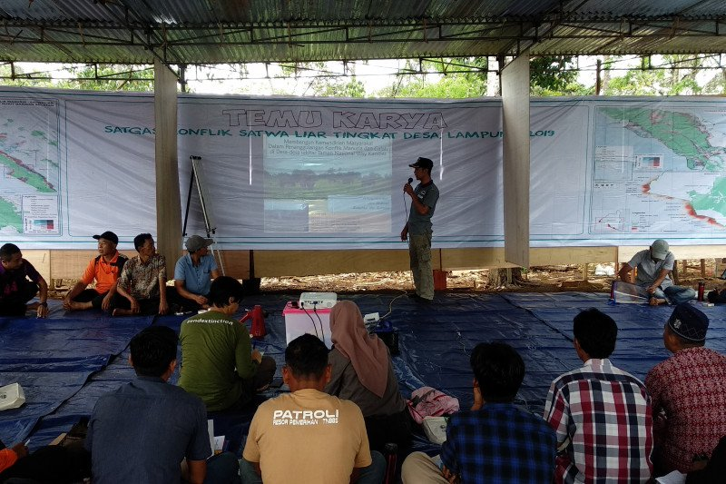 "16 desa adakan ""temu karya satgas"" konflik manusia dengan satwa liar"